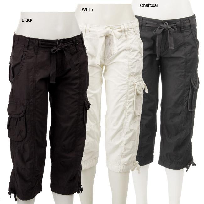 312351334706 Shop Calvin Klein Performance Women s Cargo Capri Pants - Free ...