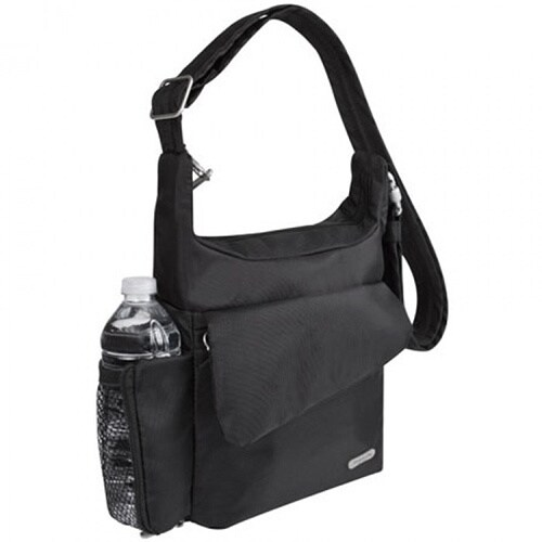 Travelon Anti Theft Messenger Bag Free Shipping Today 3958041