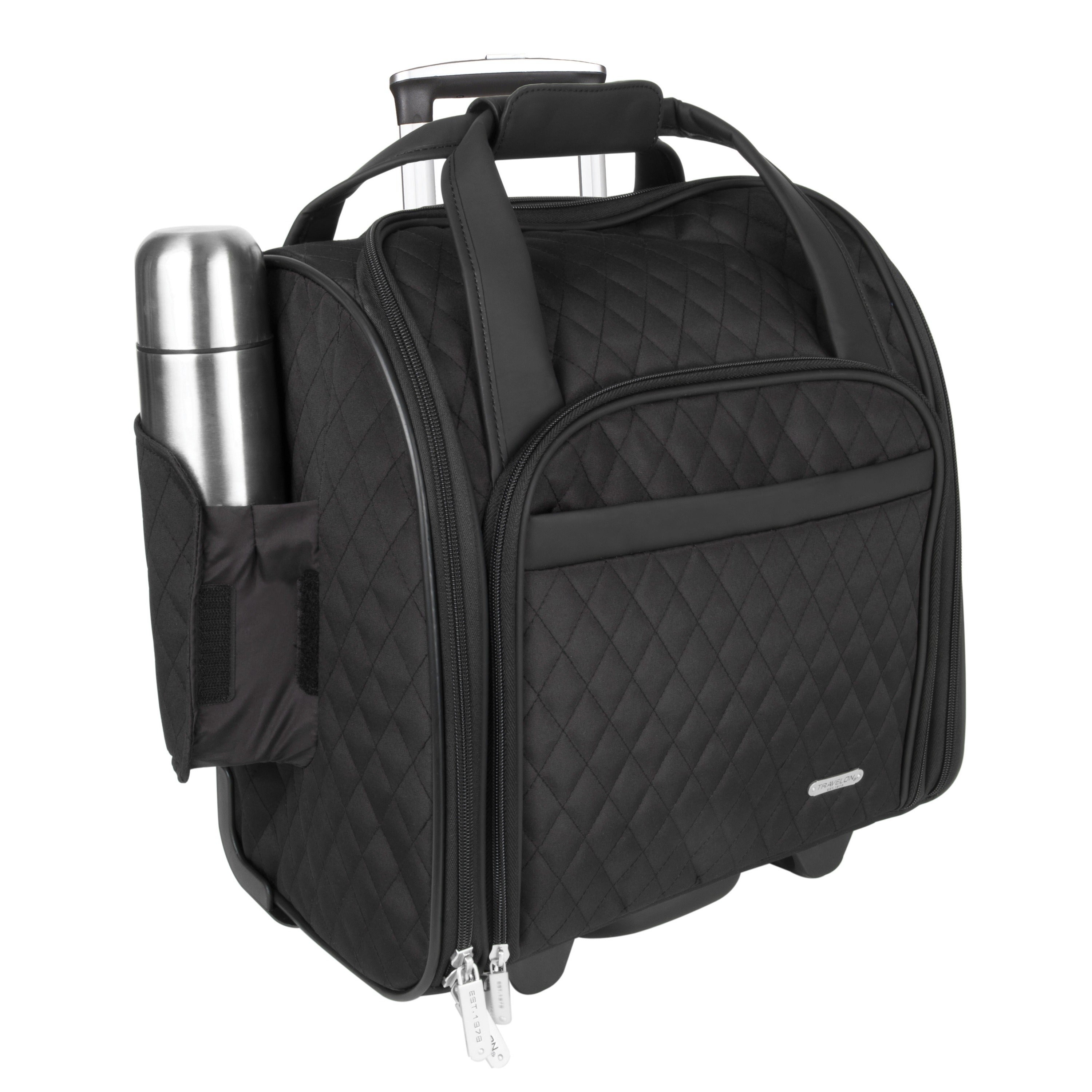 Shop Travelon Wheeled Underseat Carry-on with Back-up Bag - Free Shipping Today - Overstock.com - 3958054