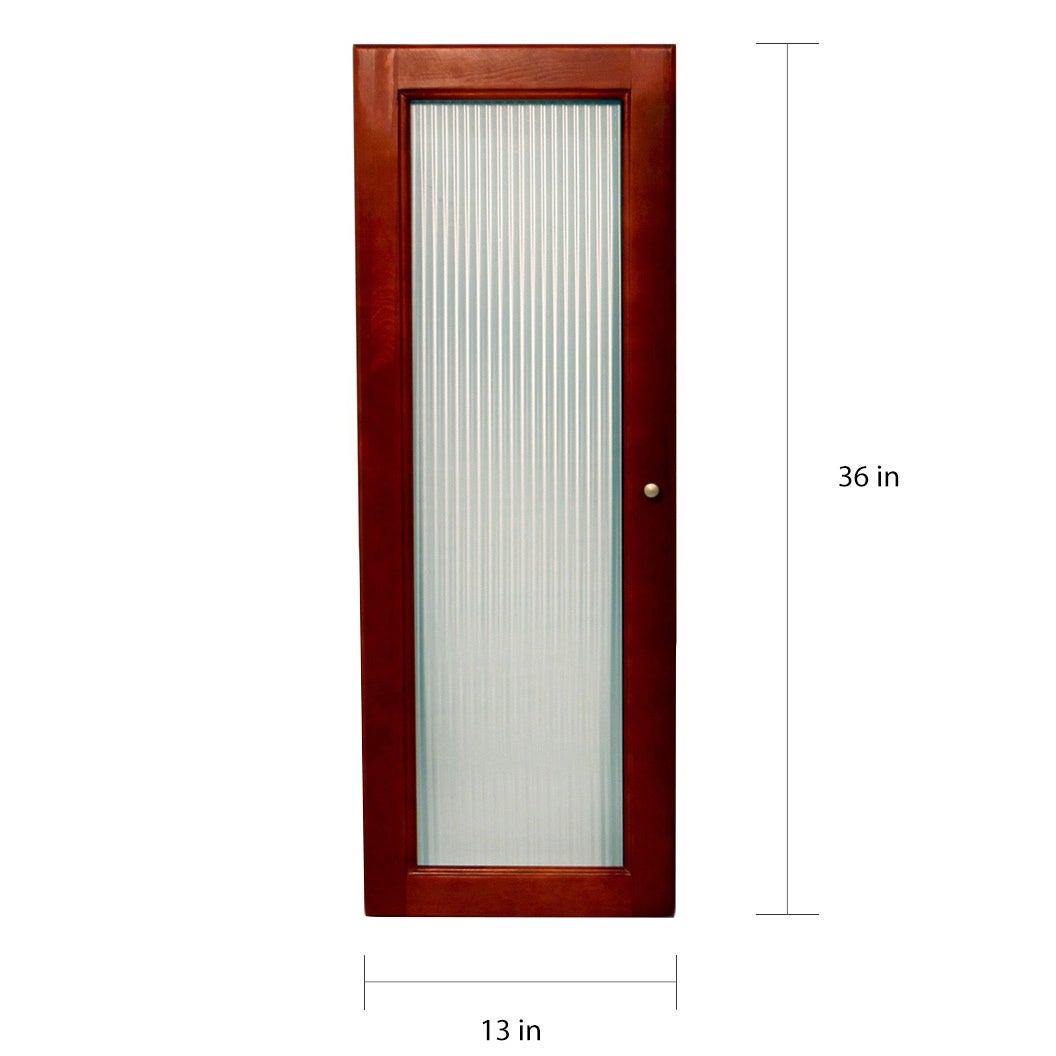 Shop John Louis Home Collection Deluxe Fluted Glass Tower Door Kit