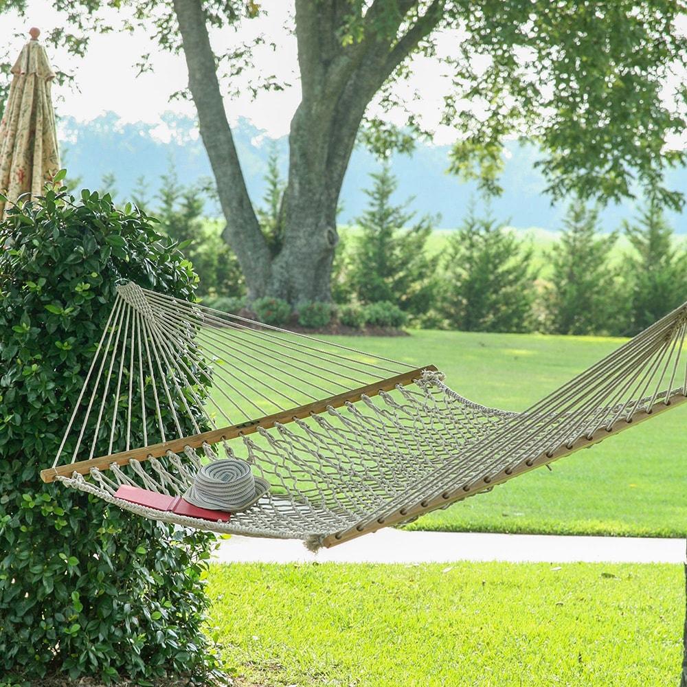 hatteras by hammock rope hatterashammocks hammocks p polyester sku white xx large