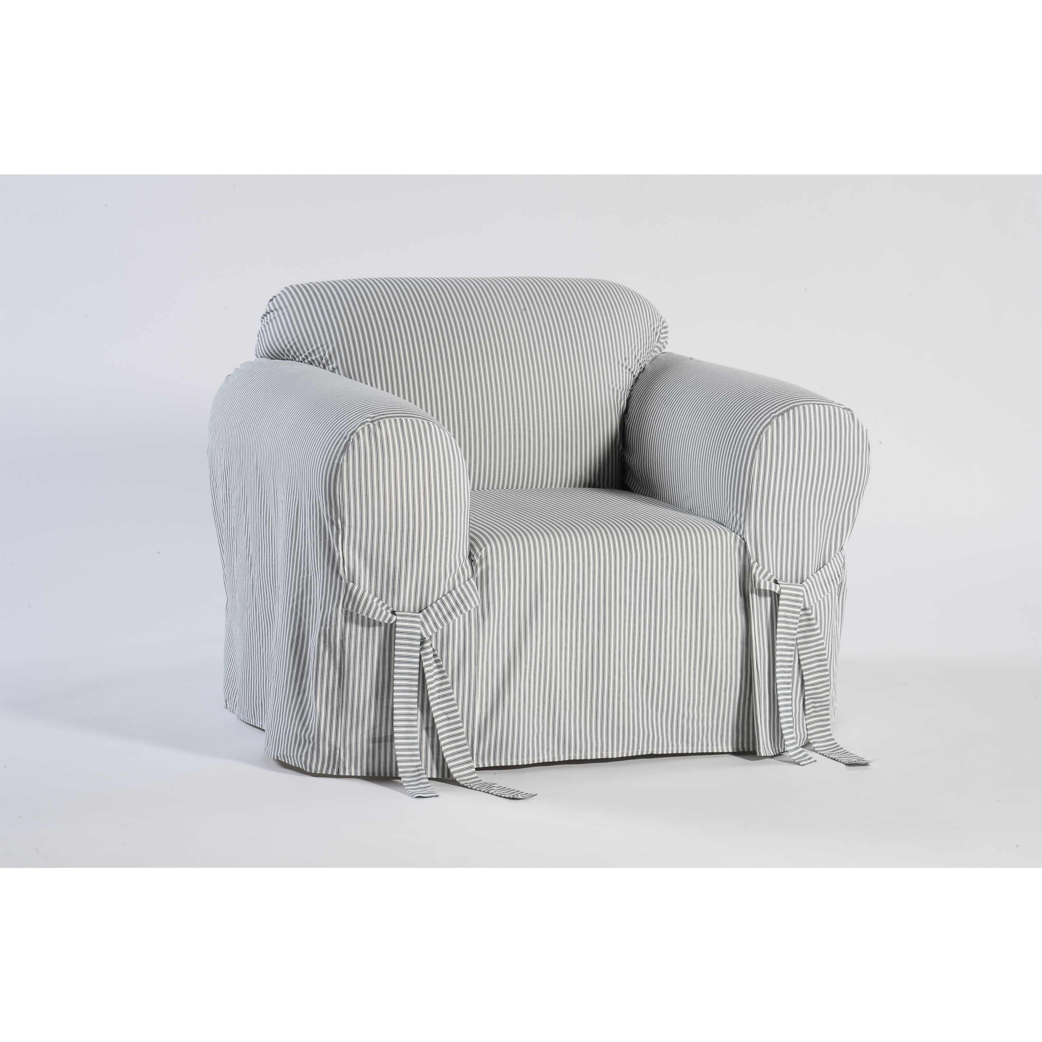Clic Slipcovers Brushed Twill Chair Slipcover On Free Shipping Today 4037673