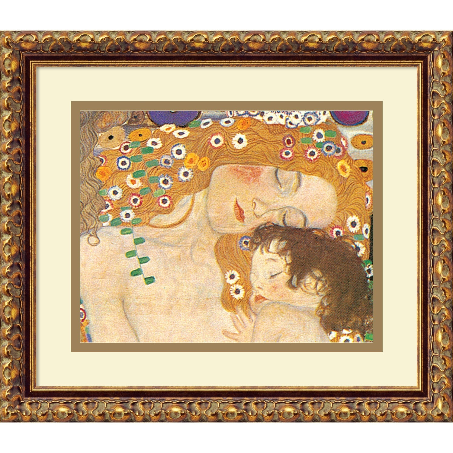 Shop Framed Art Print \'Three Ages of Woman - Mom and Child (Detail ...