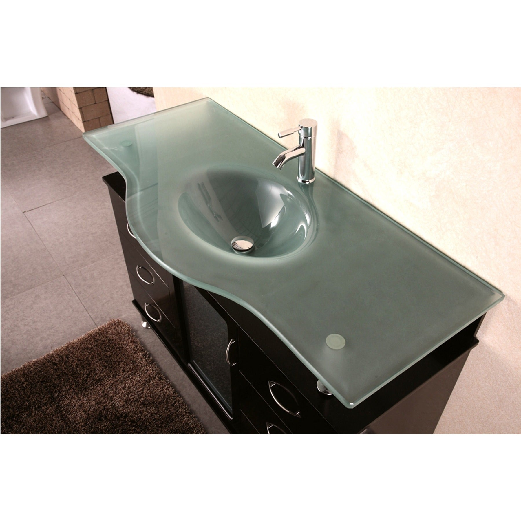 Exceptional Design Element Huntington Contemporary Bathroom Vanity Set   Free Shipping  Today   Overstock.com   12083522