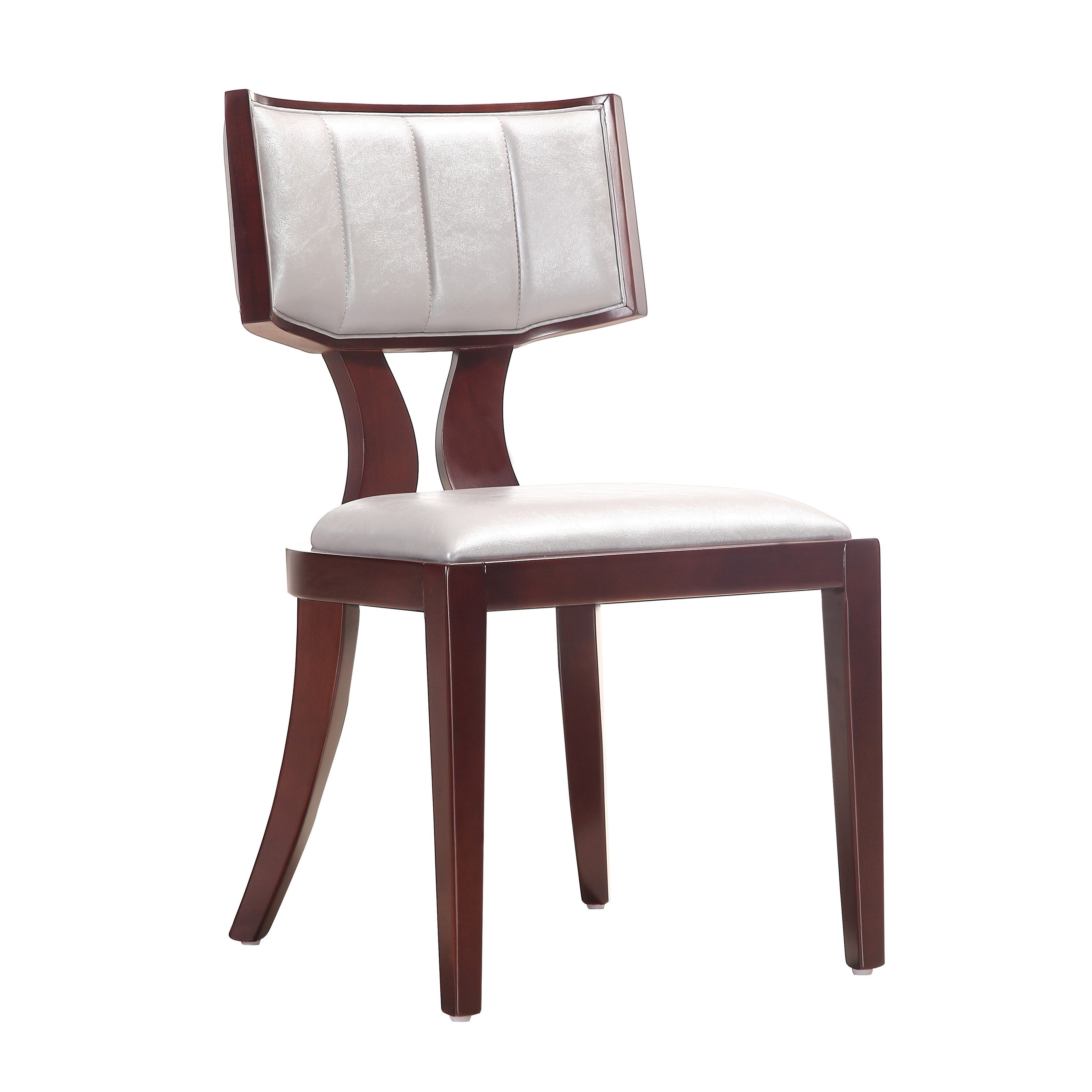 45d36b3cb5 Shop Regency Leatherette Dining Chairs (Set of 2) - Free Shipping Today -  Overstock - 4084531