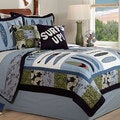 'Catch A Wave' 3-piece Quilt Set