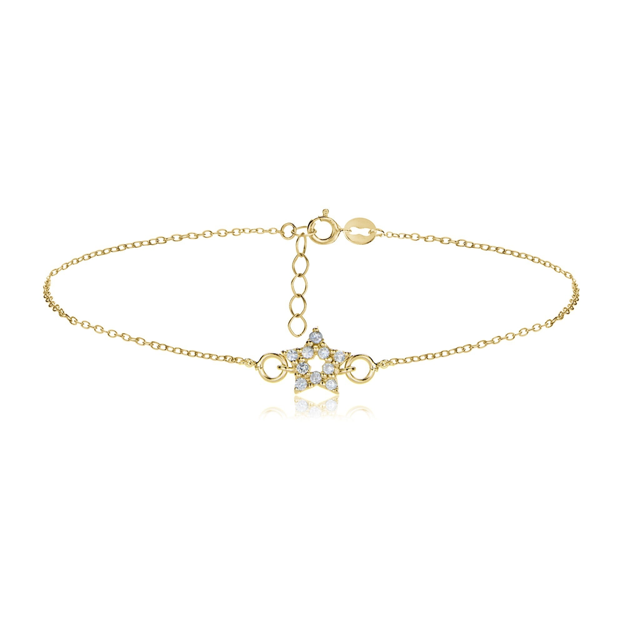 diamondland diamond bracelet jewelry rose jewellery in gold anklet