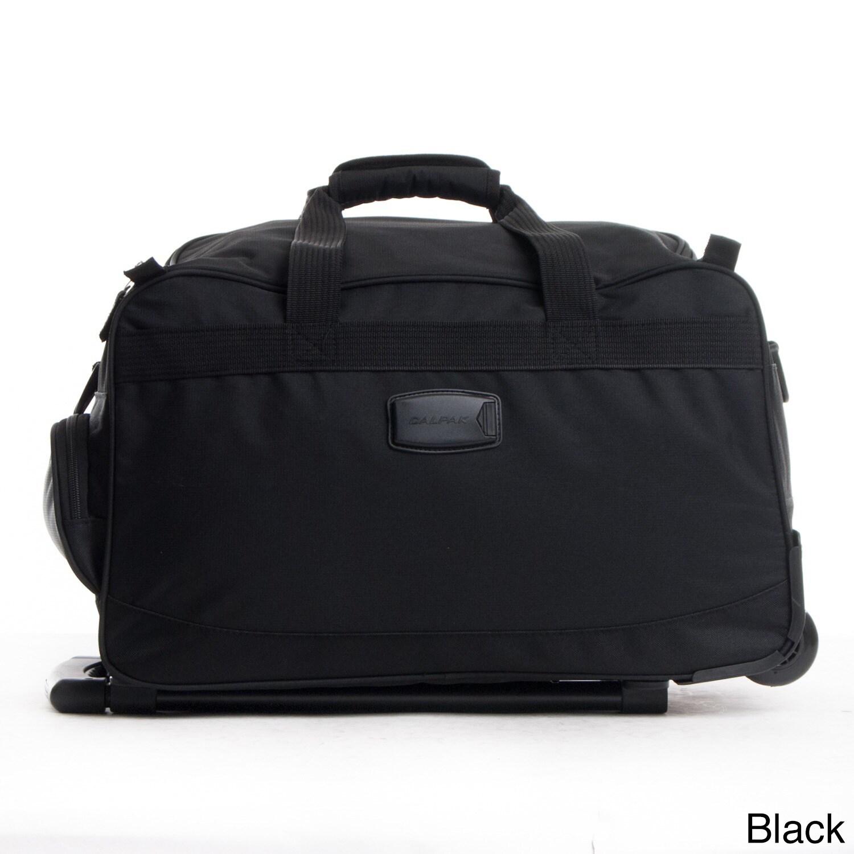 Shop CalPak Champ 21-inch Carry On Rolling Upright Duffel Bag - Free ... 34e2fc5b89