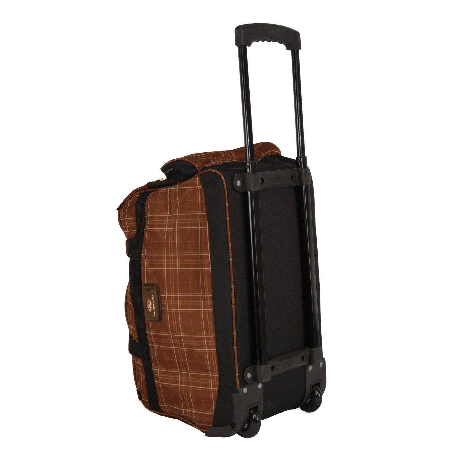 c047a85485 Shop CalPak Champ Plaid 21 Inch Carry On Rolling Upright Duffel Bag - Free  Shipping On Orders Over  45 - Overstock - 4094825