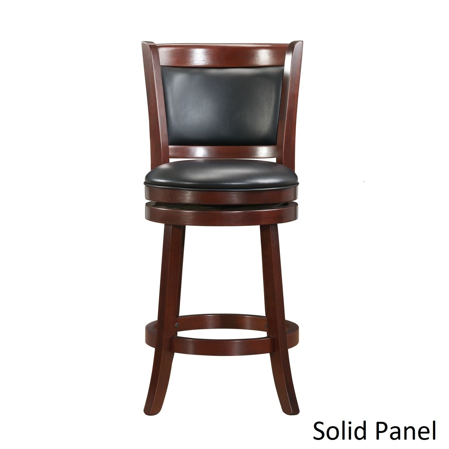 Verona Cherry Swivel 24 Inch High Back Counter Height Stool By INSPIRE Q  Classic   Free Shipping Today   Overstock.com   12112311
