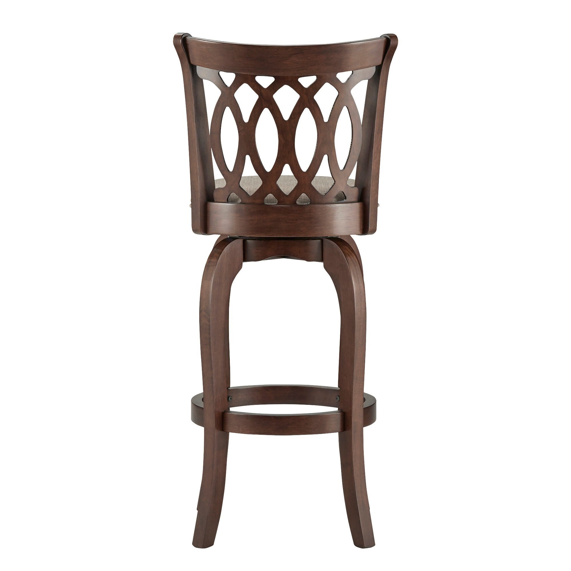 Verona Linen Scroll-back Swivel 29-inch Bar Stool by iNSPIRE Q Classic -  Free Shipping Today - Overstock.com - 12112319
