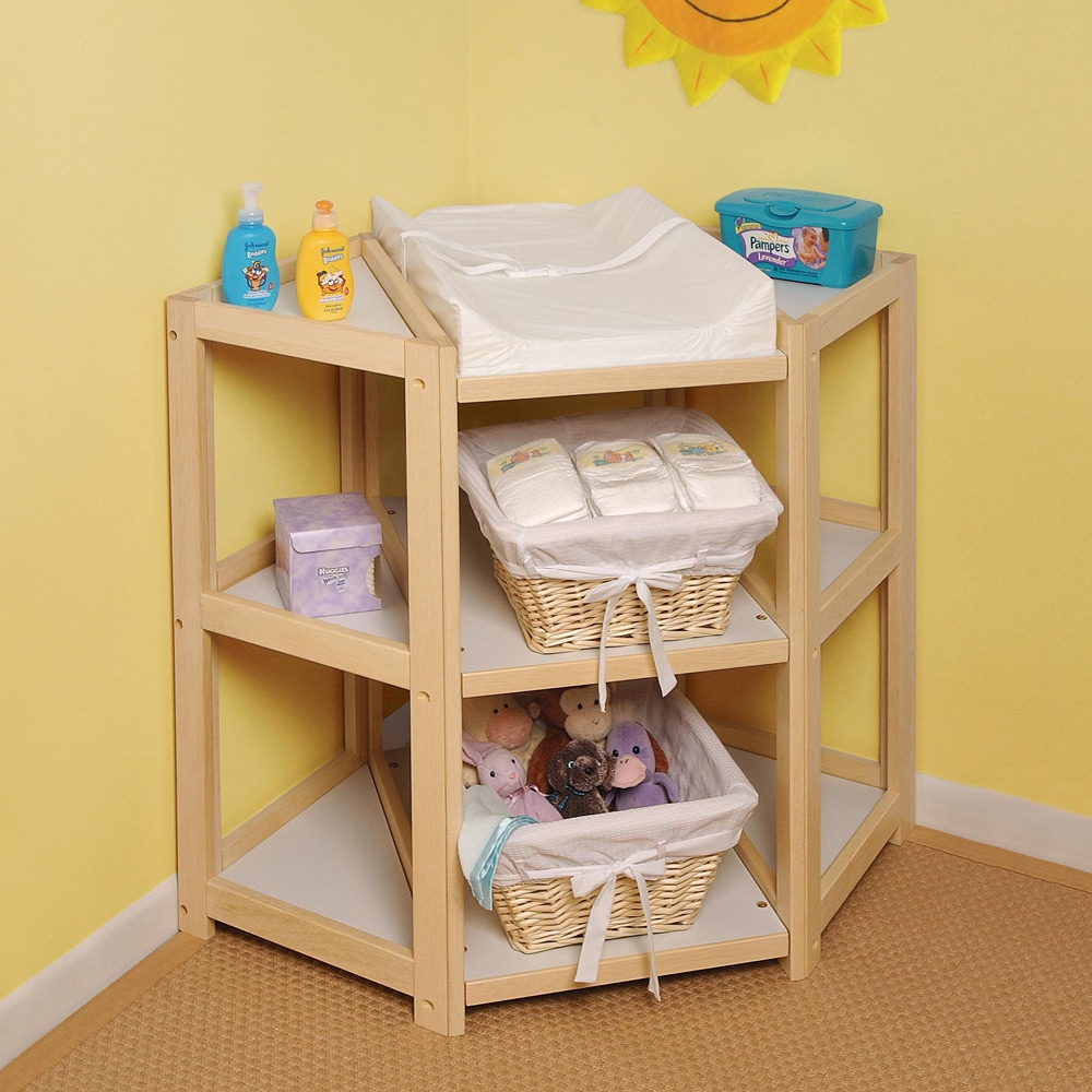 Shop The Diaper Corner Natural Changing Table   Free Shipping Today    Overstock.com   4104020