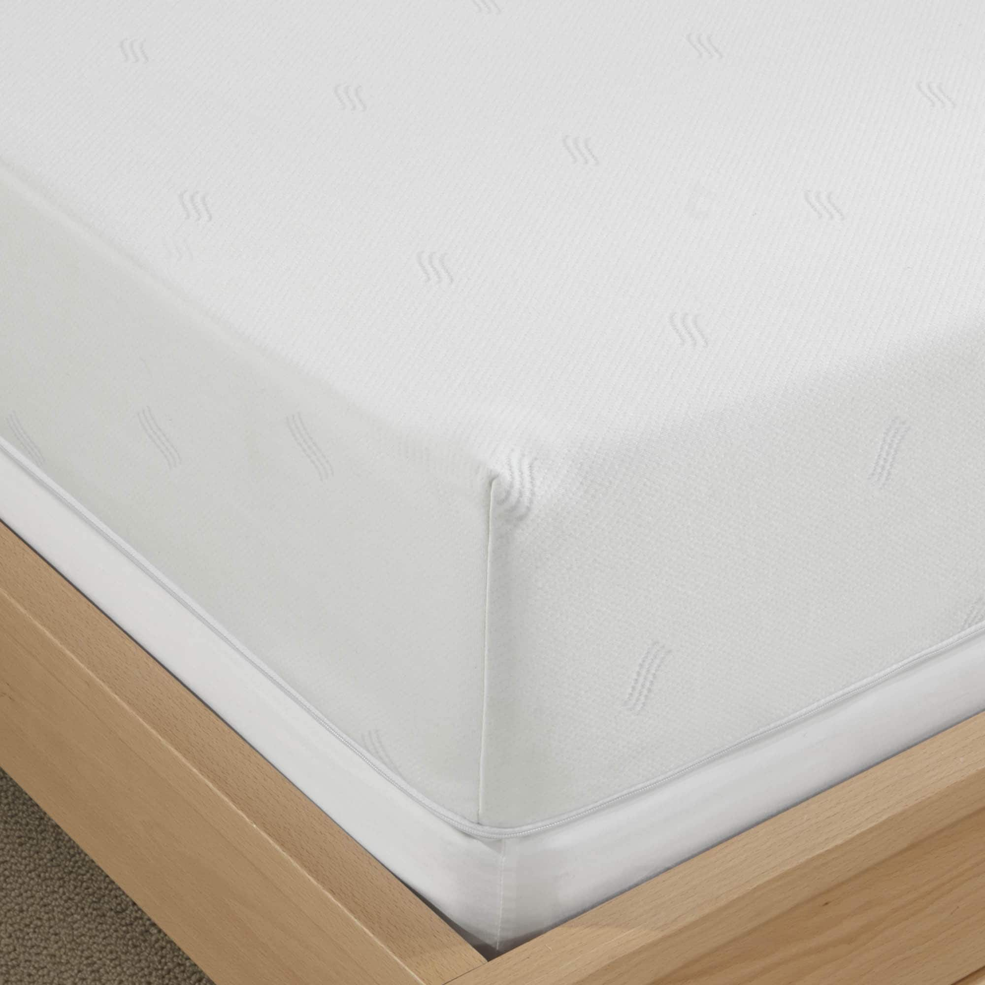 Shop Serta 8 Inch Queen Size Memory Foam Mattress Free Shipping