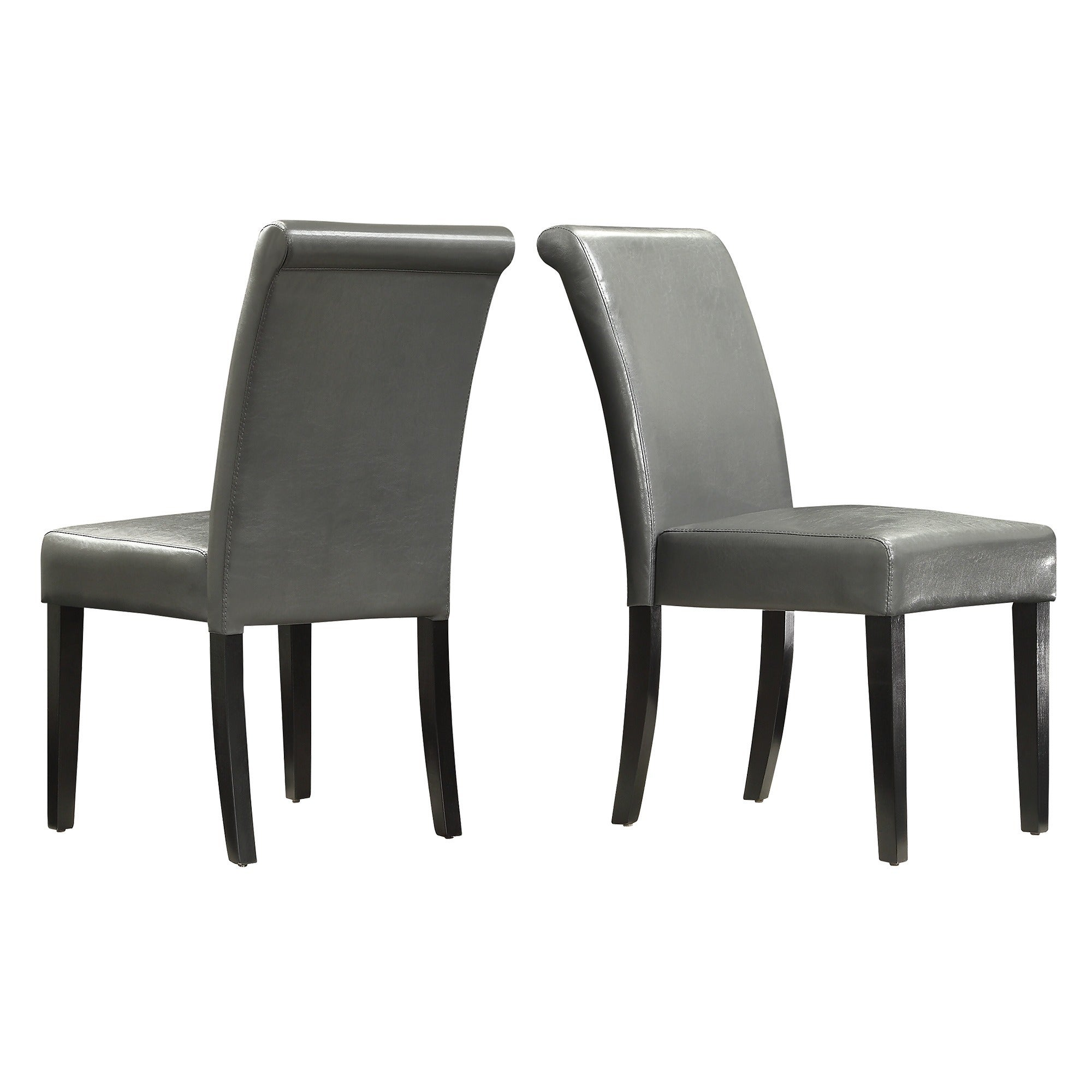 Dorian Faux Leather Upholstered Dining Chair (Set of 2) by iNSPIRE Q Bold -  Free Shipping Today - Overstock.com - 12118821