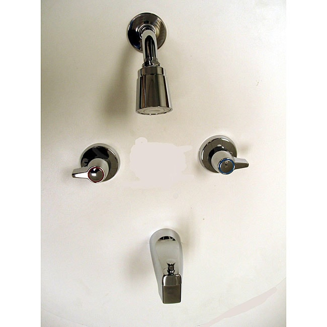 Shop Moen 2 Handle Chrome Tub Shower Faucet Ships To Canada