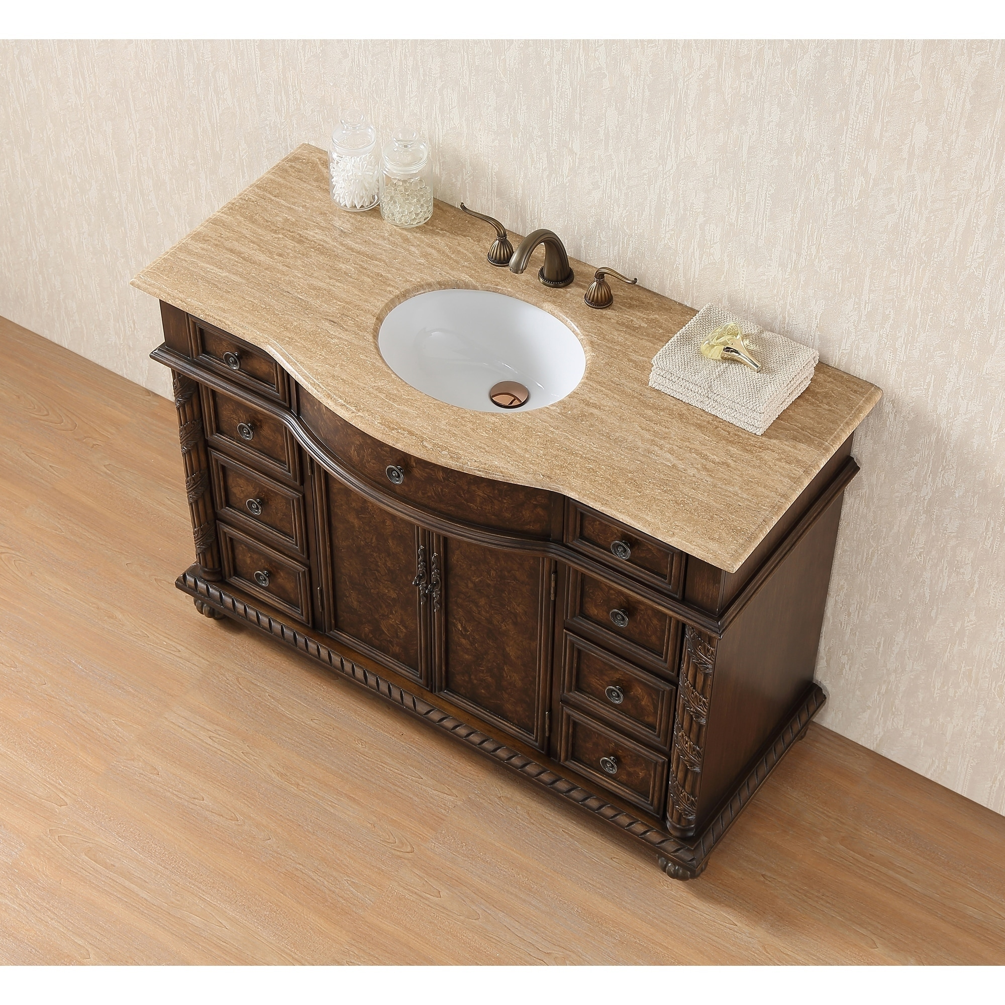 element product single vanity espresso in set hudson sink design