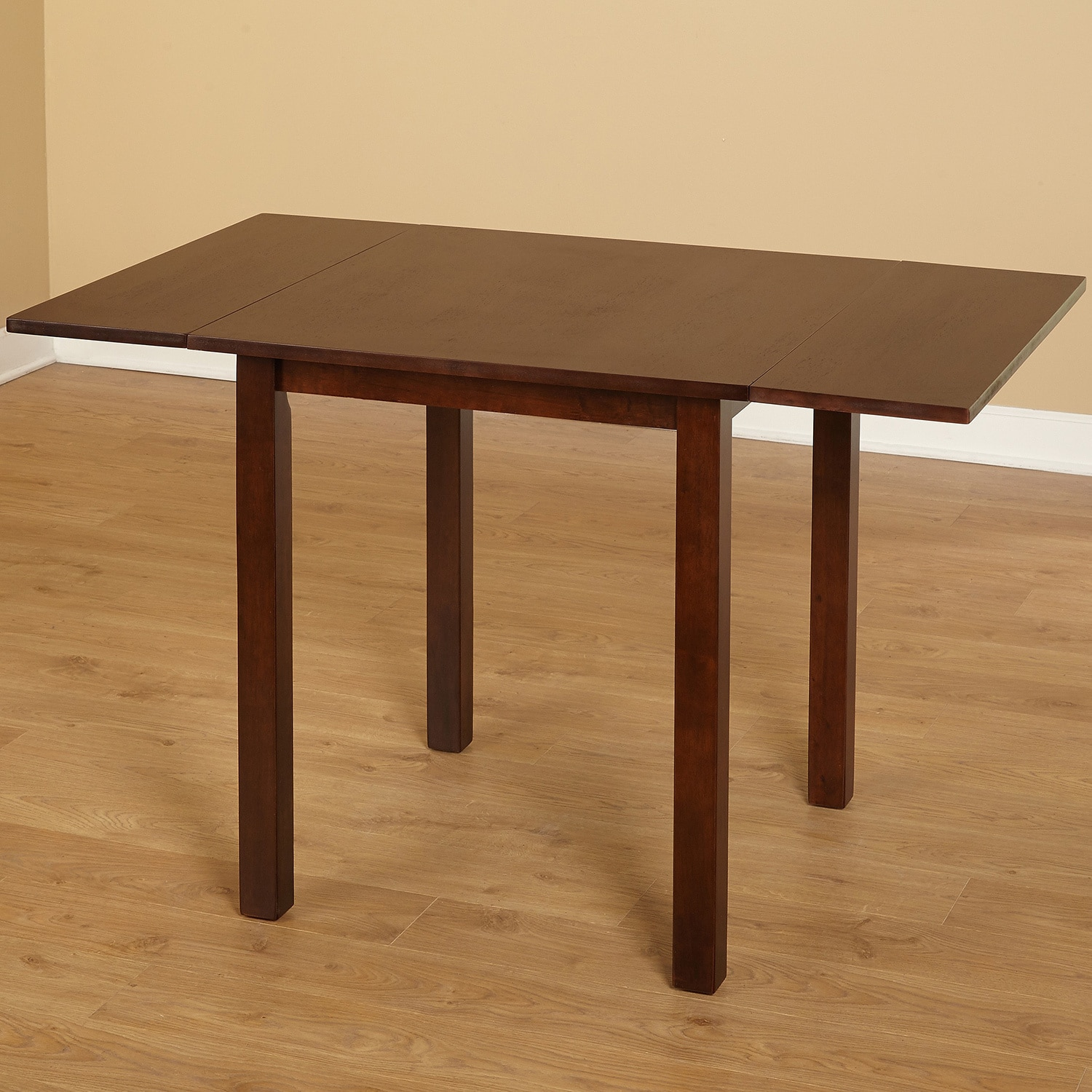 Shop Simple Living Austin Drop Leaf Table   Brown   Free Shipping Today    Overstock.com   4129047