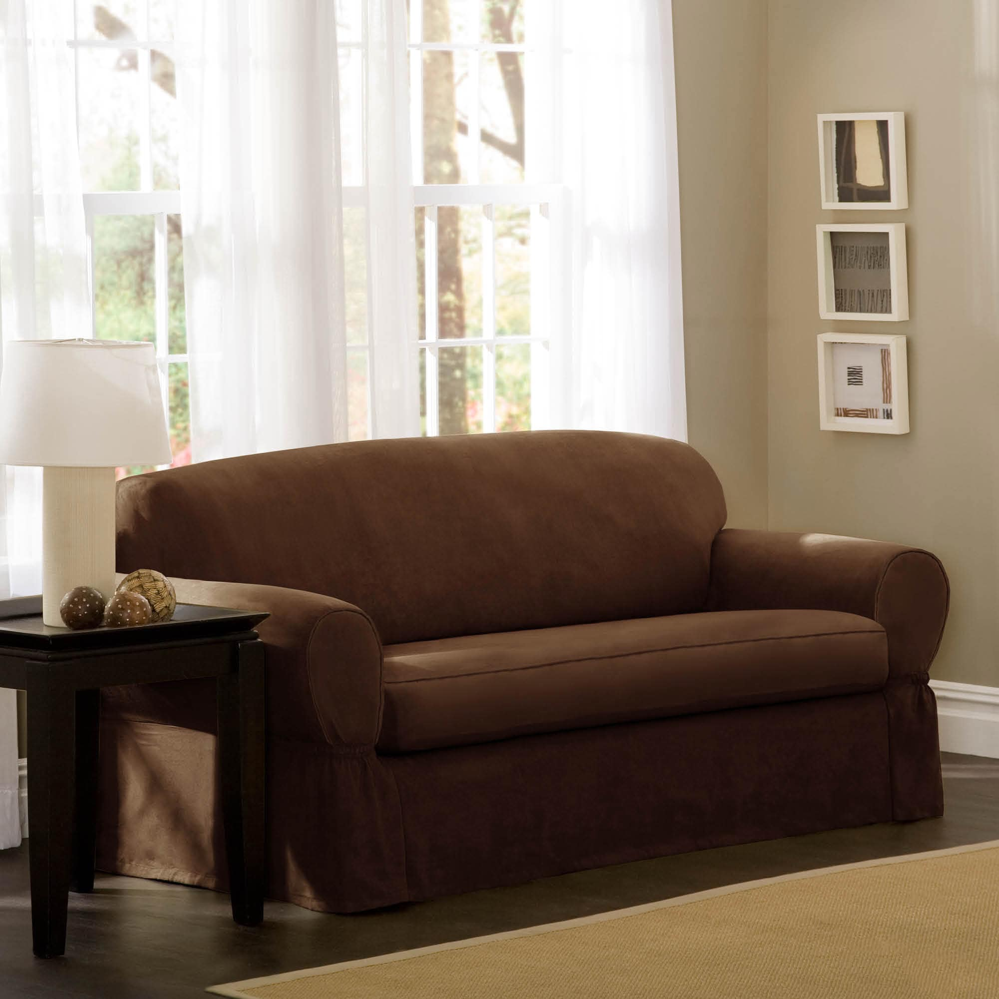 products fit zinfandel red great solid by velvet gale loveseat collection stretch form home plush bay slipcovers cheap velvetplush slipcover