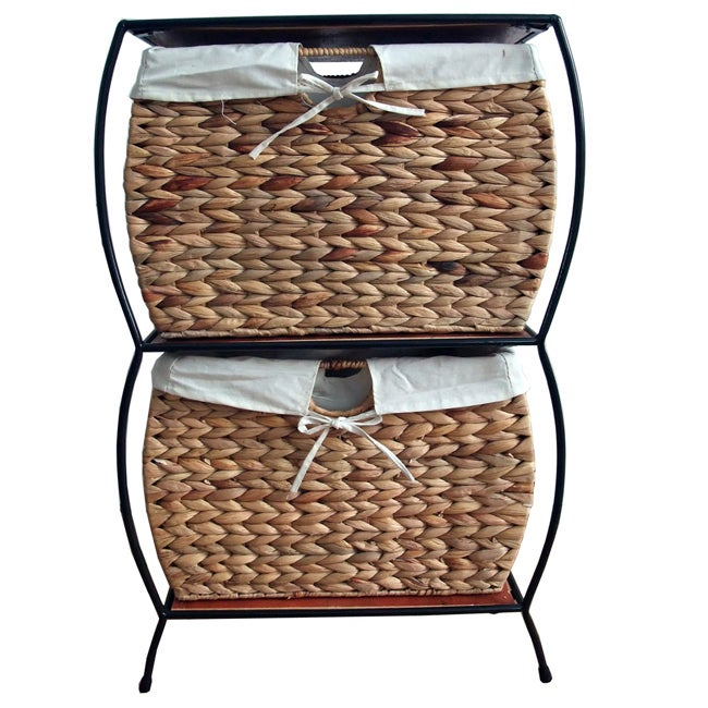 Beau Shop Rattan 2 Drawer File Cabinet   On Sale   Free Shipping Today    Overstock.com   4134986
