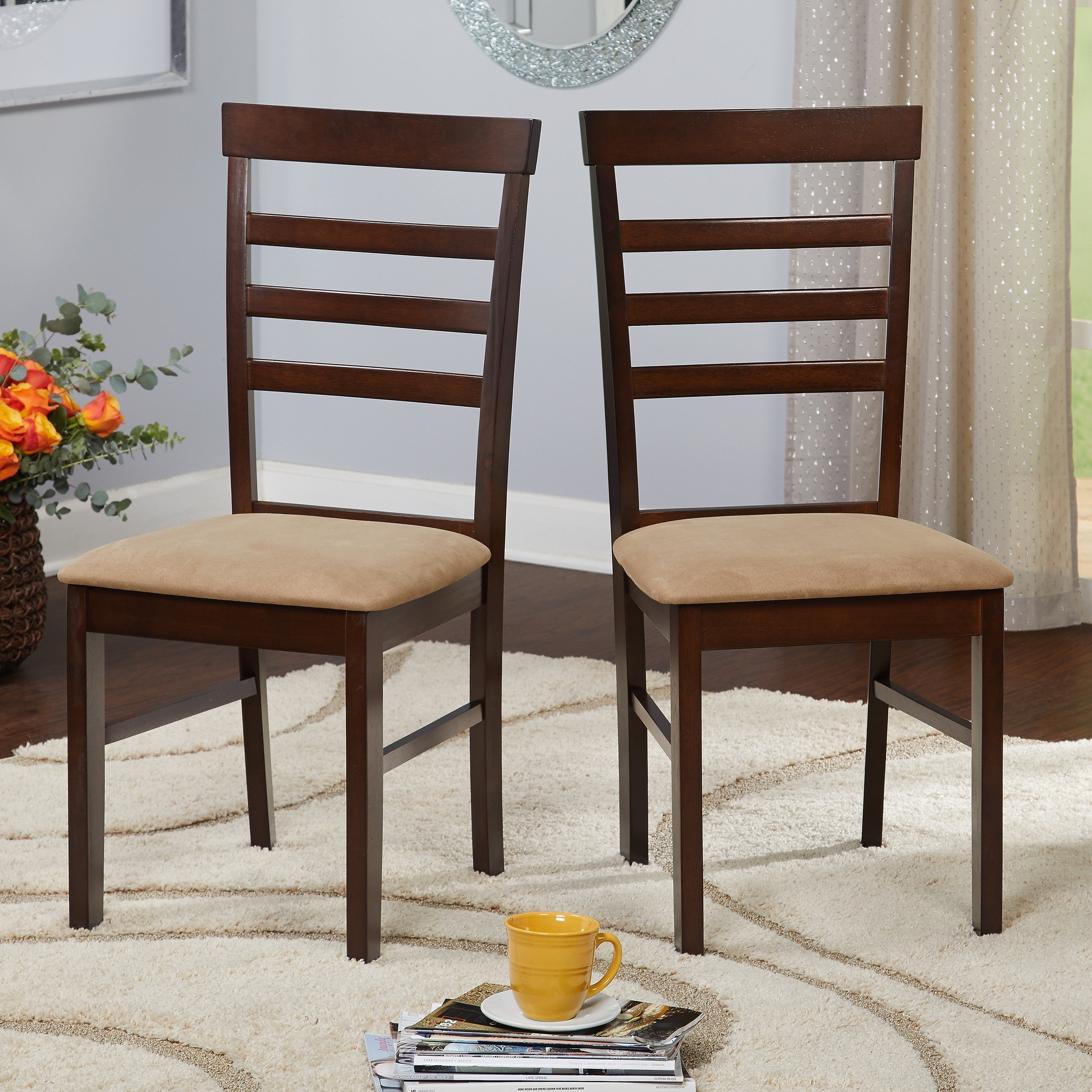 Shop Simple Living Havana Dining Chair (Set Of 2)   Free Shipping Today    Overstock.com   4138607