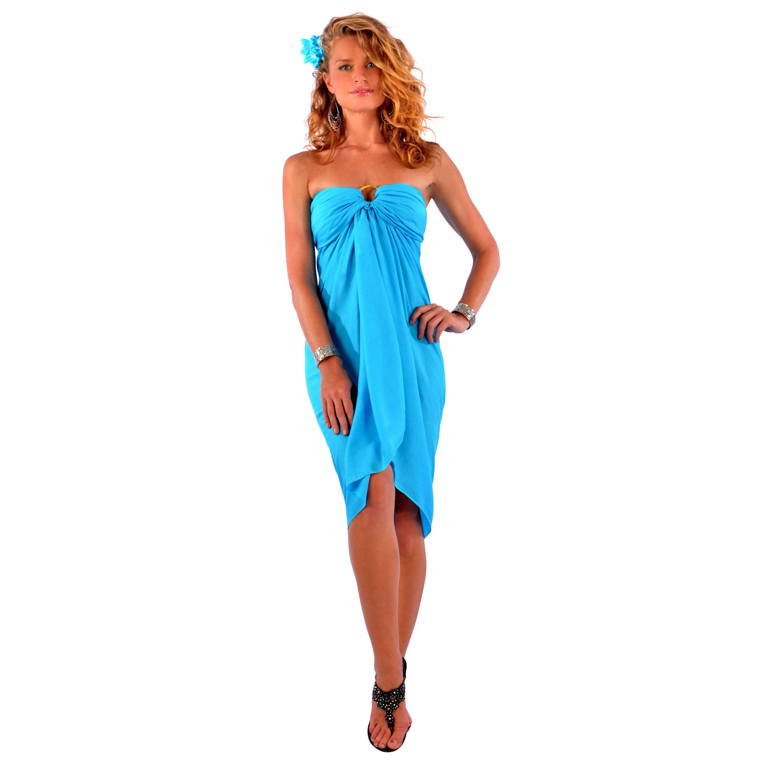 672452292f Shop Handmade 1 World Sarongs Women's Fringeless Solid Sarong (Indonesia) -  On Sale - Free Shipping On Orders Over $45 - Overstock - 4141645