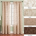 Softline Santiago Rod Pocket 96-inch Curtain Panel