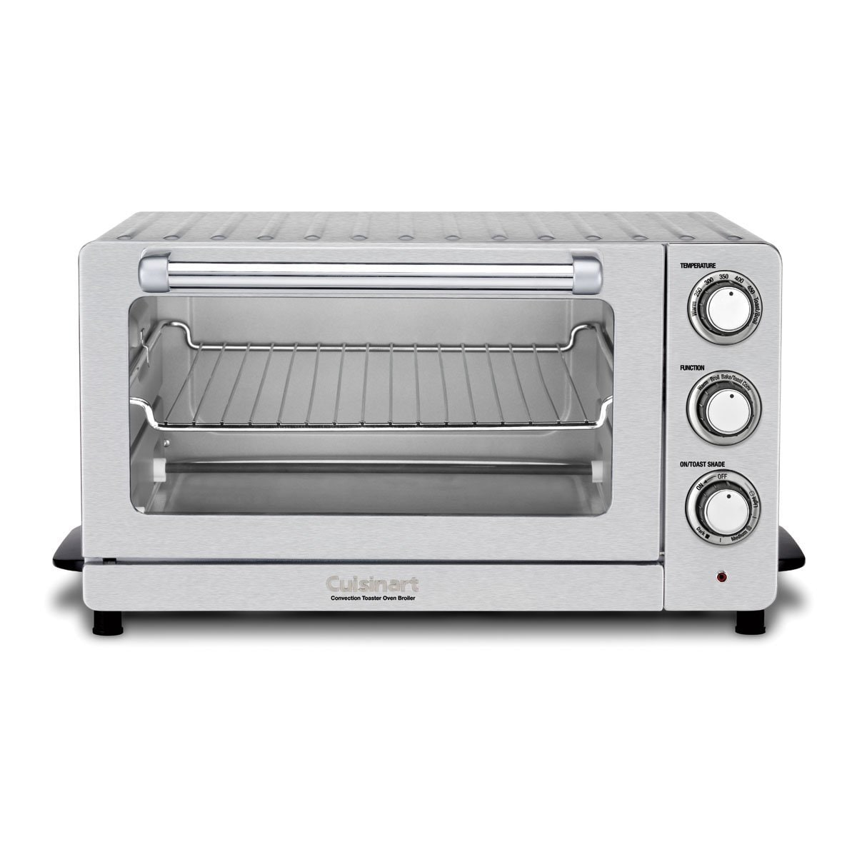 Cuisinart TOB-60N Stainless Steel CounterPro Convection Toaster Oven ...