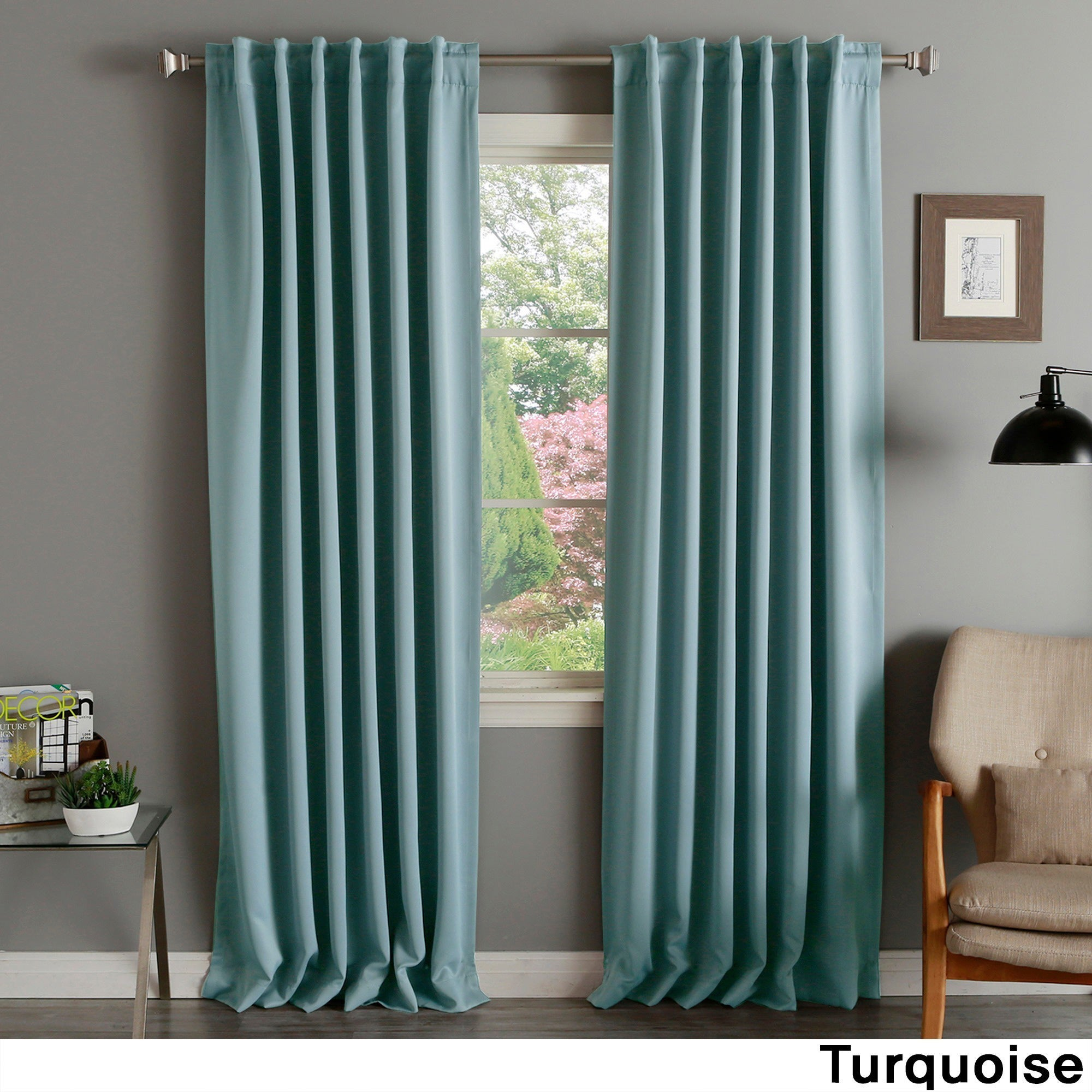 curtains zi c home care personal turquoise curtain multi rings shower dillards bath