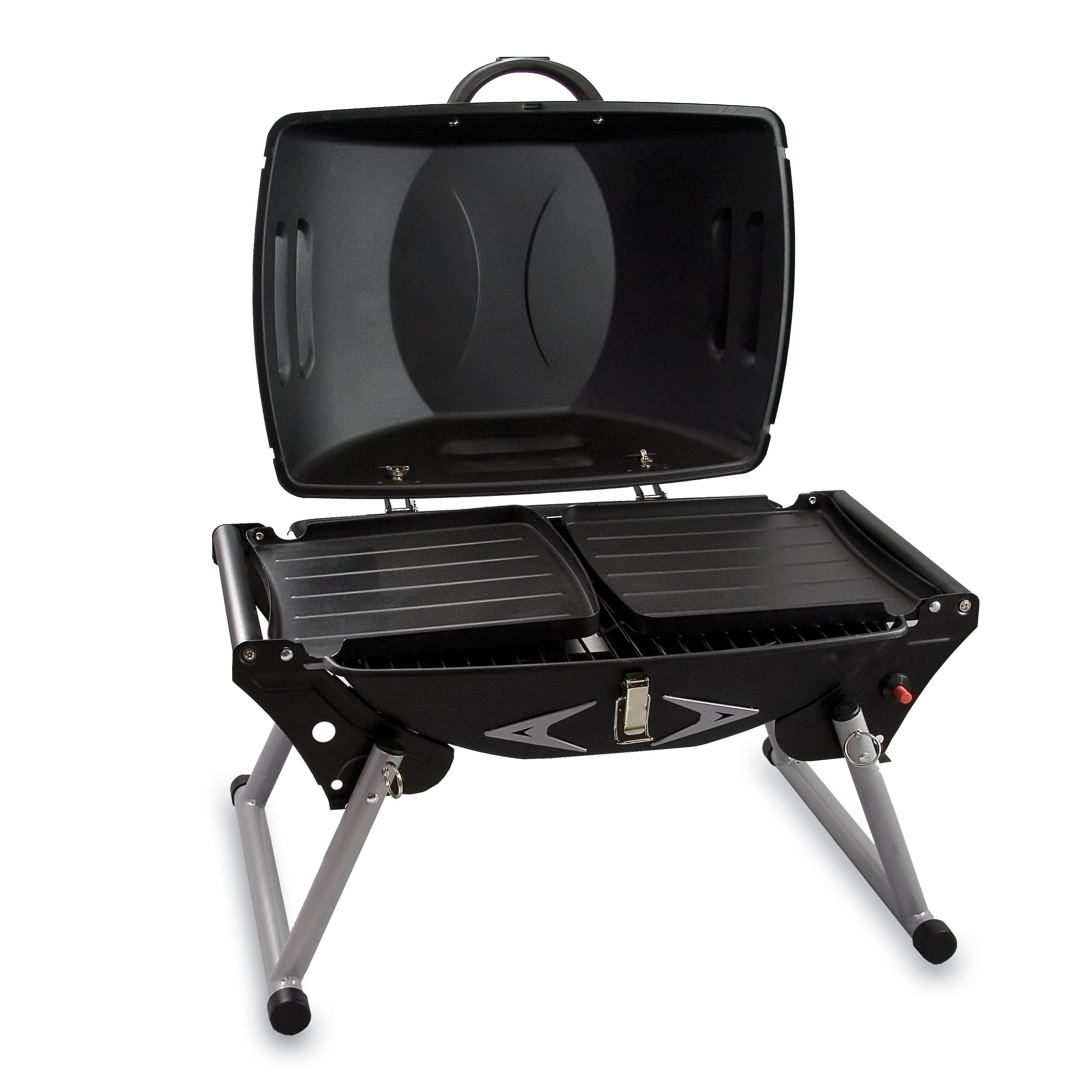 Attirant Shop Picnic Time Portagrillo Portable Gas BBQ Grill   Free Shipping Today    Overstock.com   4229963