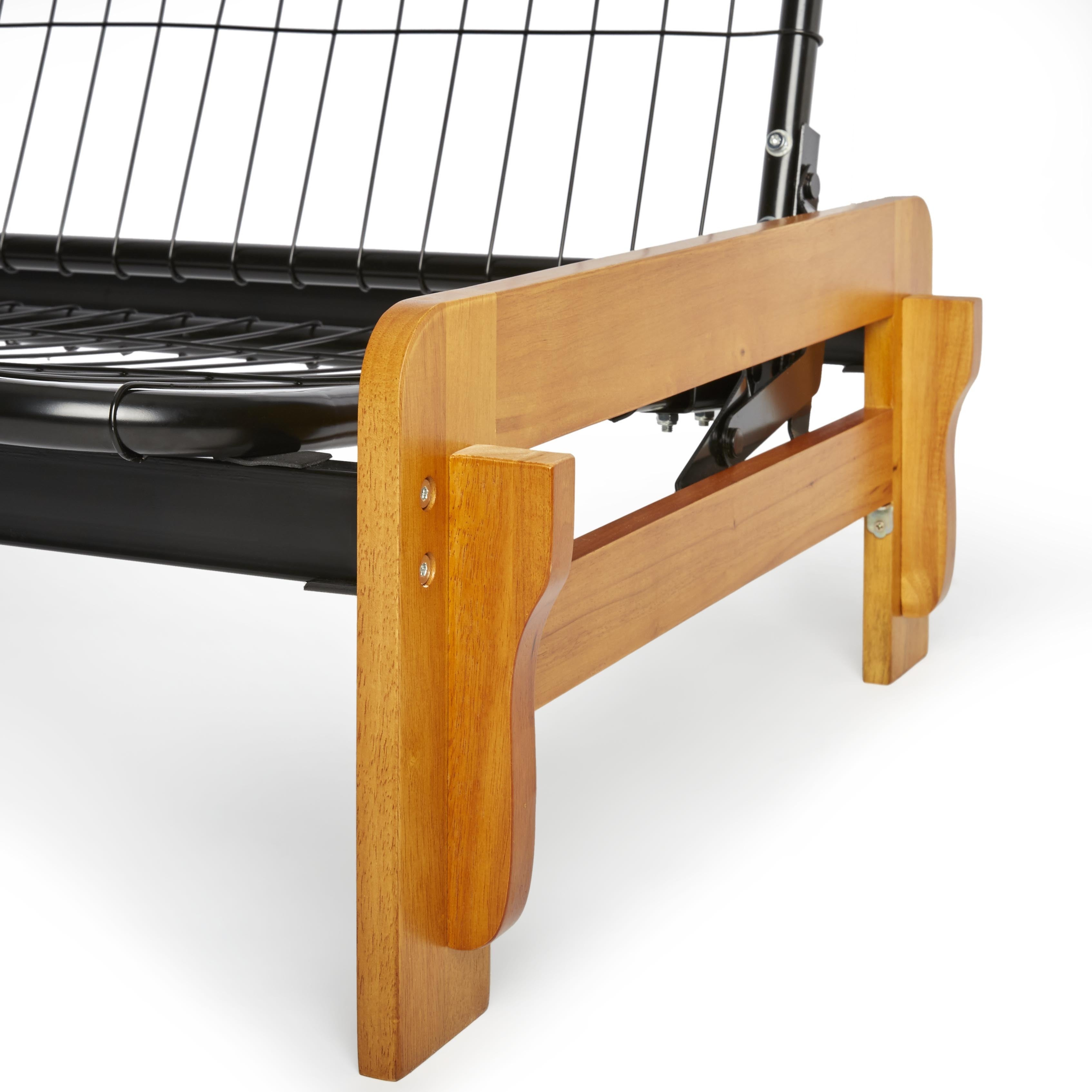 Boston Armless Steel Futon Frame ly Free Shipping Today