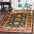 Safavieh Lyndhurst Traditional Oriental Black/ Red Rug (6' x 9')