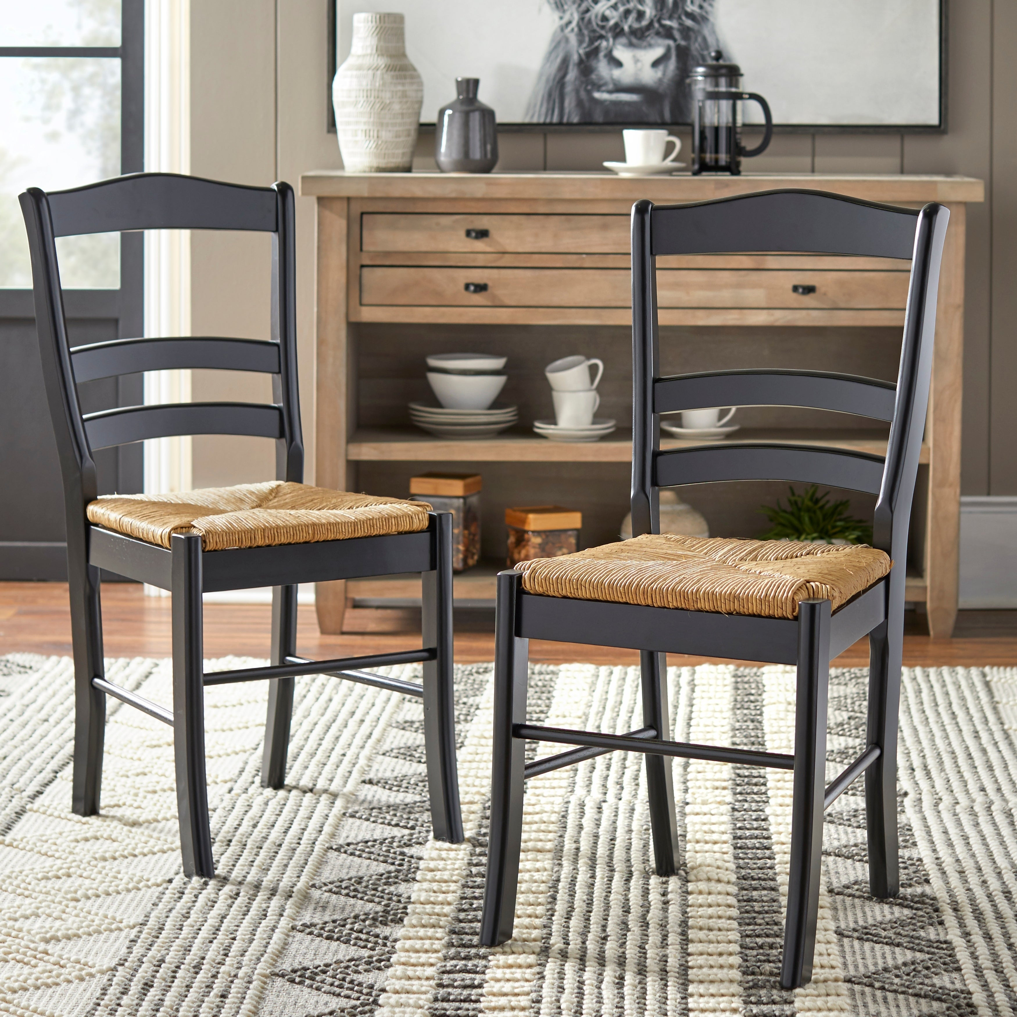 Simple Living Paloma Wooden Dining Chairs (Set of 12)