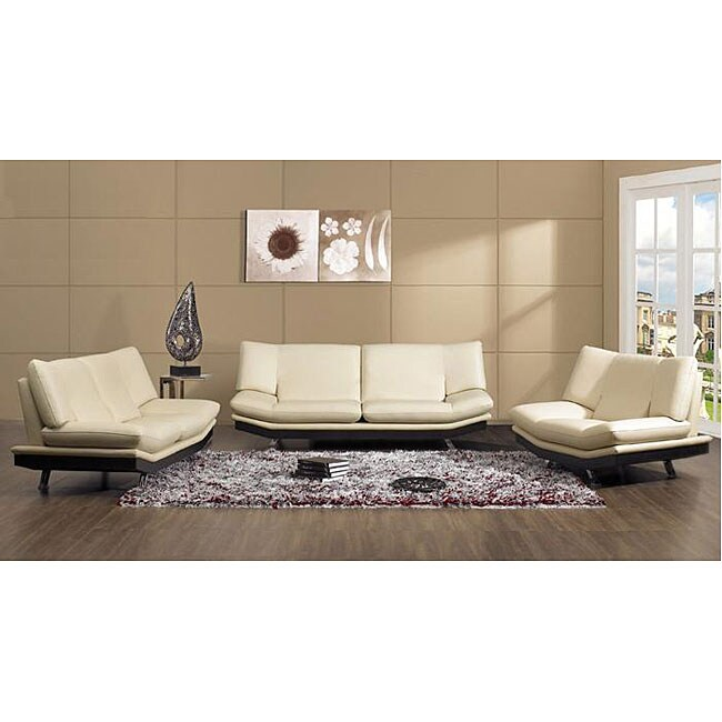 Shop Furniture Of America Visalia Porcelain 3 Piece Contemporary