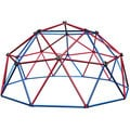 Lifetime Red/Blue Powder-coated-steel Dome Climber with Handholds