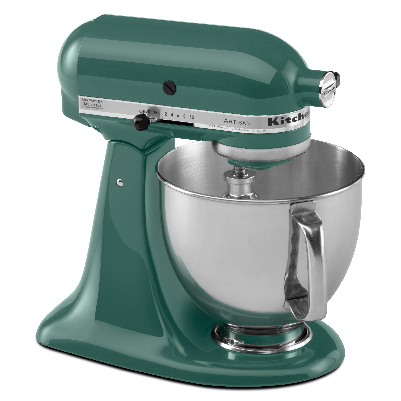 KitchenAid KSM150PSBL Bayleaf 5-quart Artisan Tilt-Head Stand Mixer ...