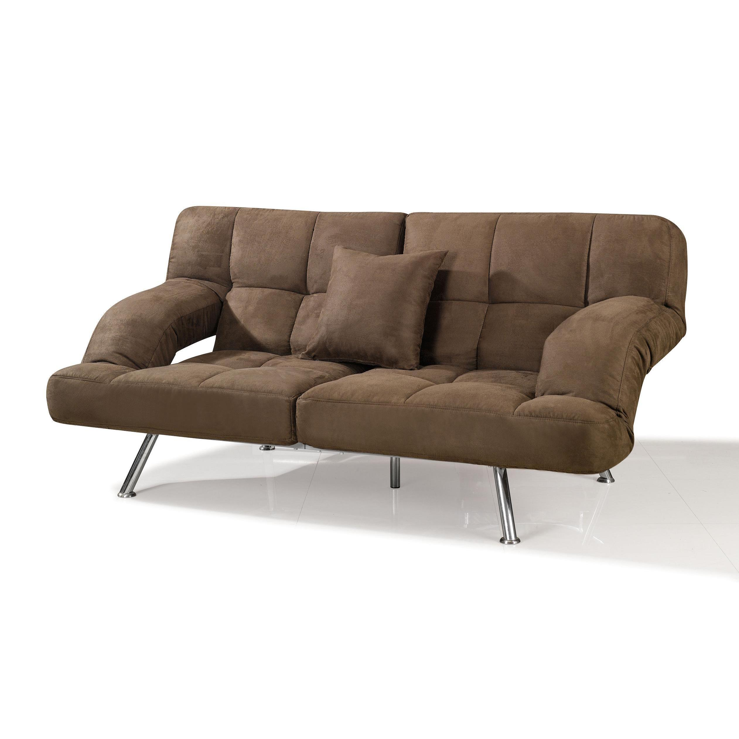 Shop Dark Brown Microfiber Sofa Bed - Free Shipping Today ...