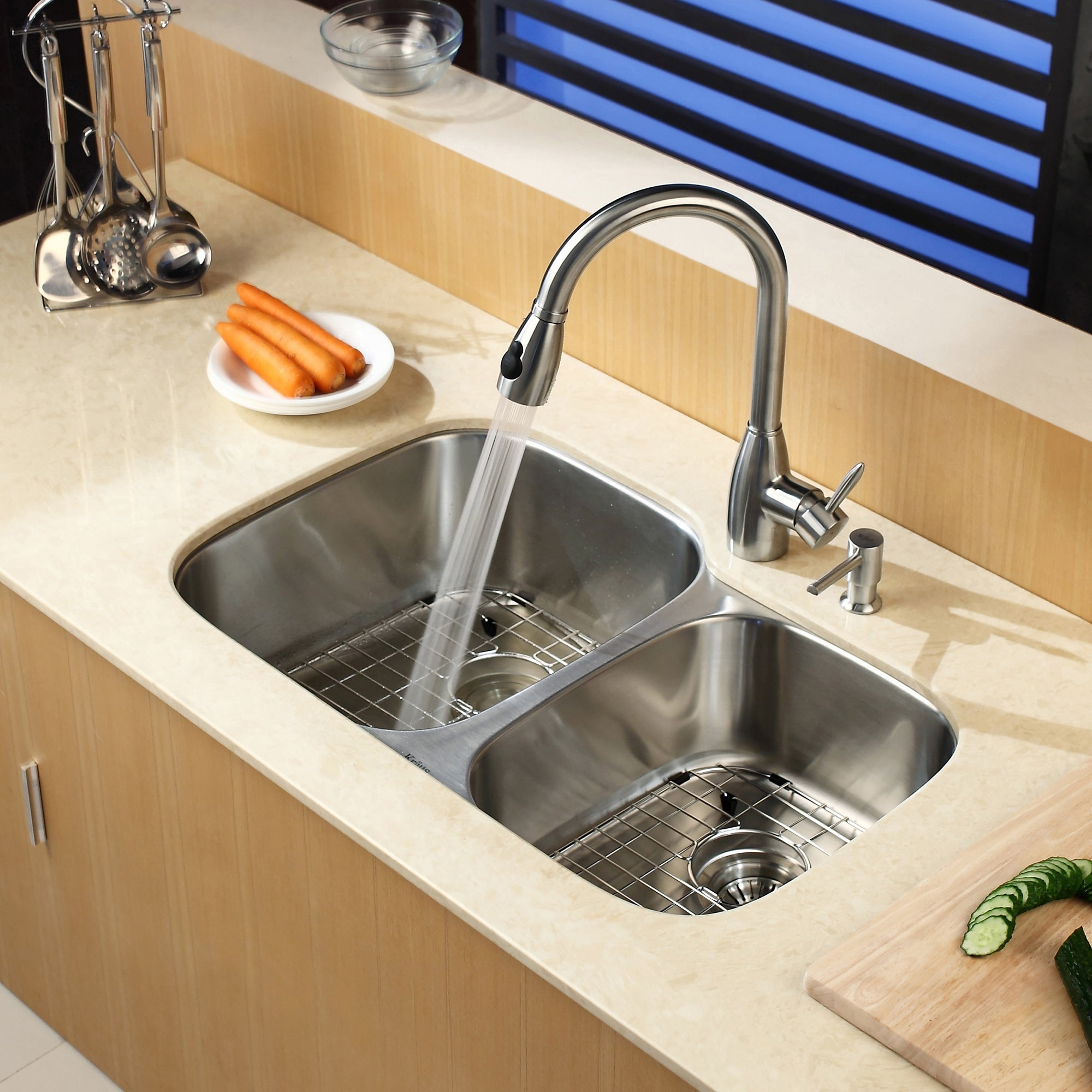 Porclain Kitchen Sinks Undermount on