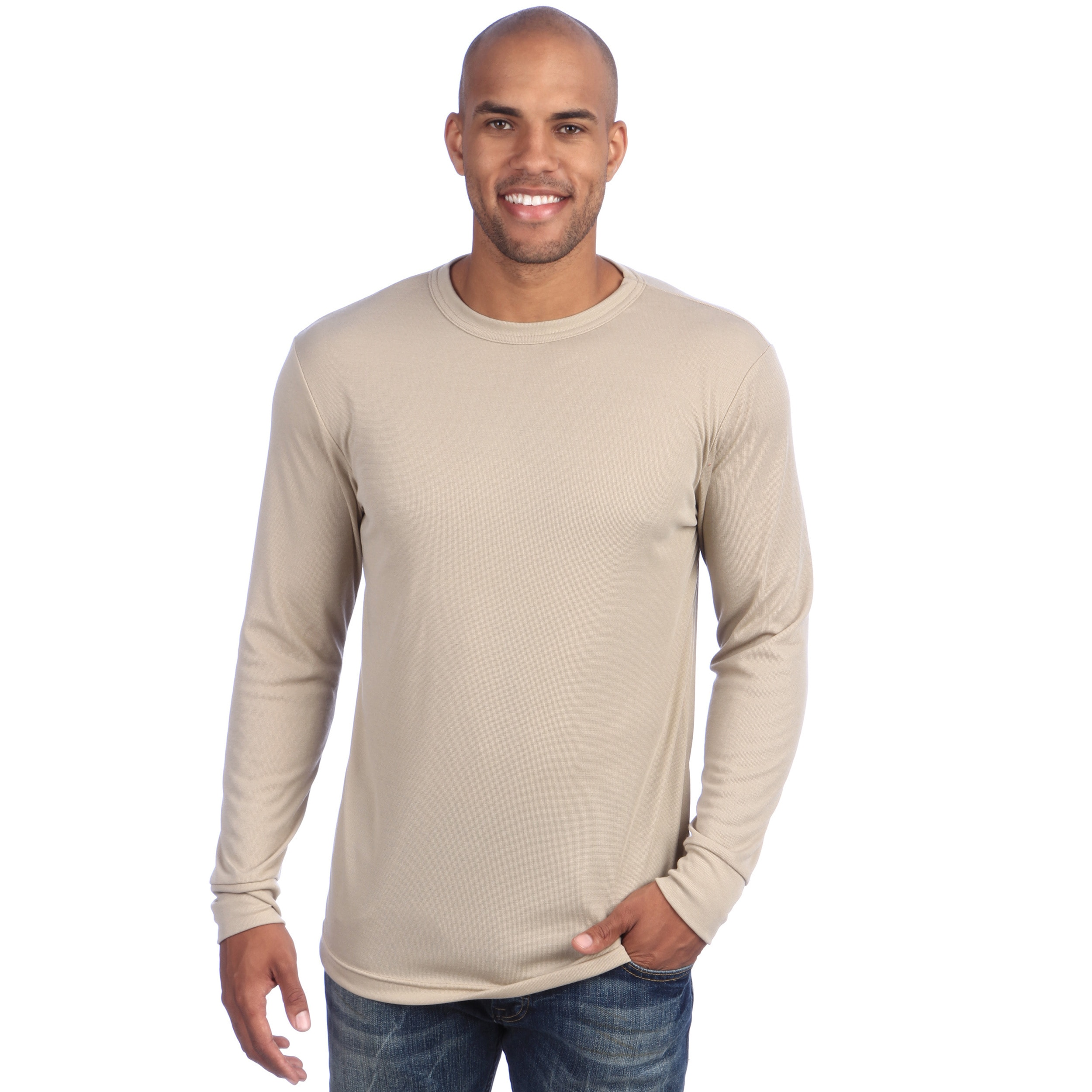 4e9b04aae296b Shop Kenyon Men s Silk Weight Long-sleeve Thermal Crew Top - Free Shipping  On Orders Over  45 - Overstock - 4286861
