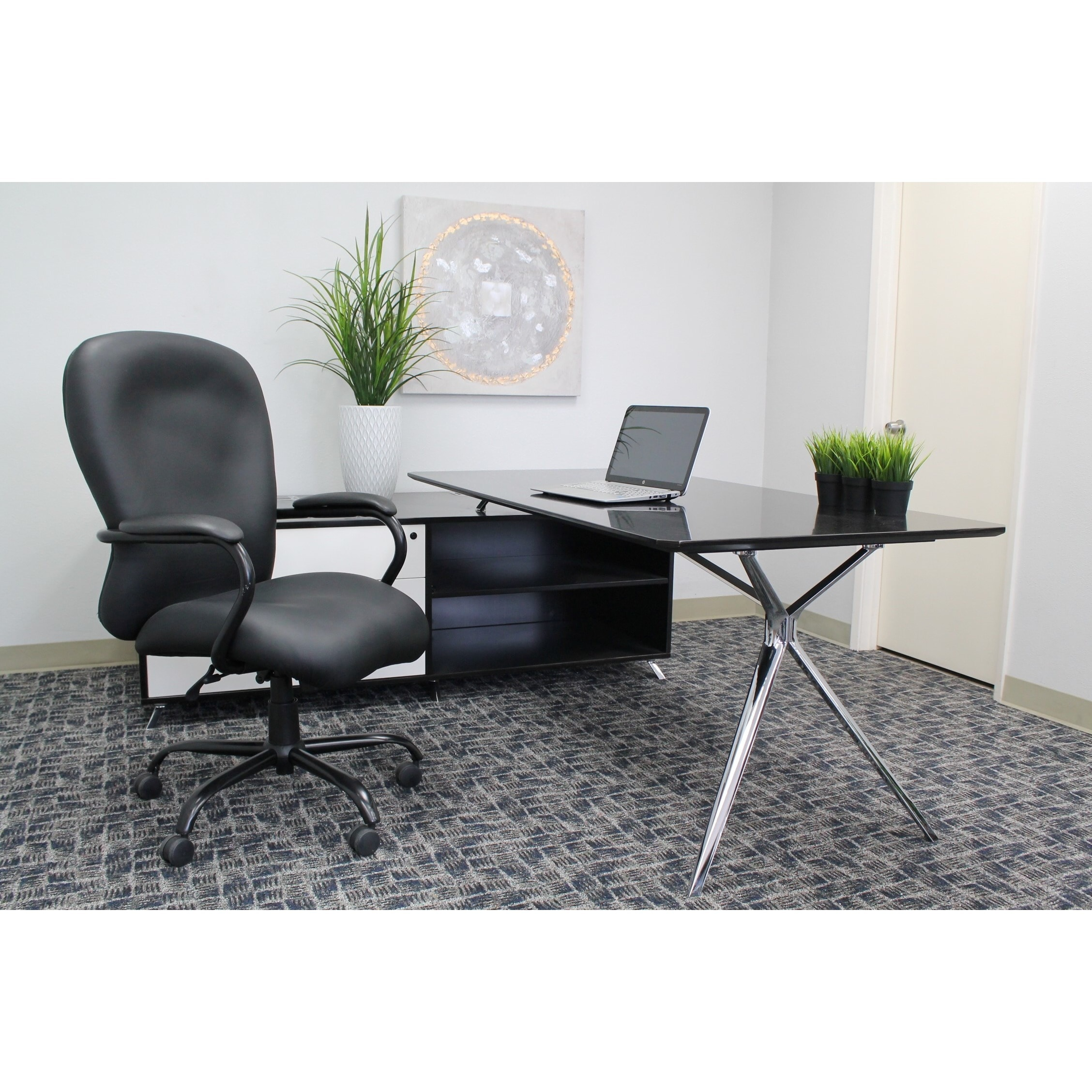 Boss And Tall Executive Office Chair Free Shipping Today 4302857