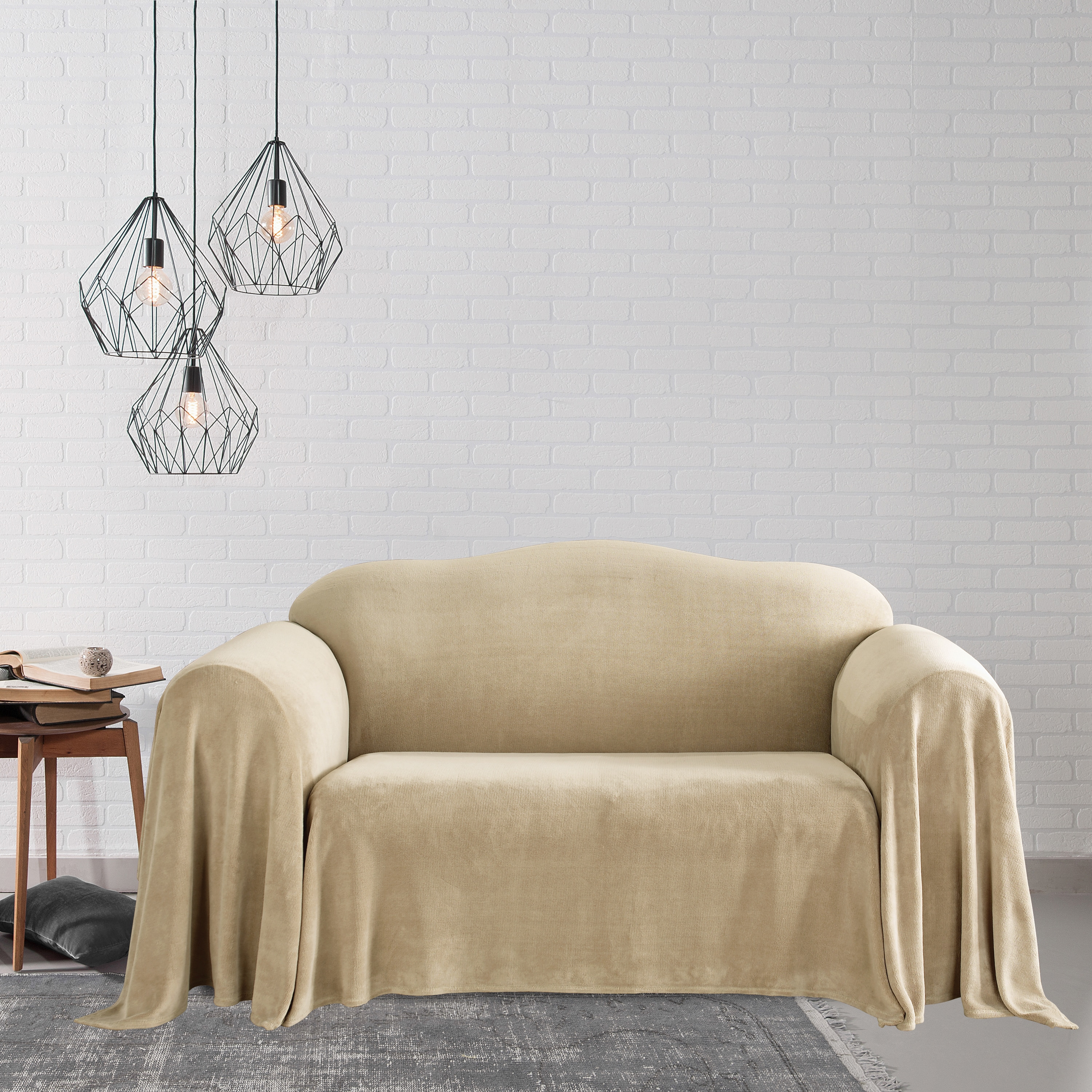 Shop Plush Loveseat Furniture Throw   Free Shipping Today   Overstock.com    4312012