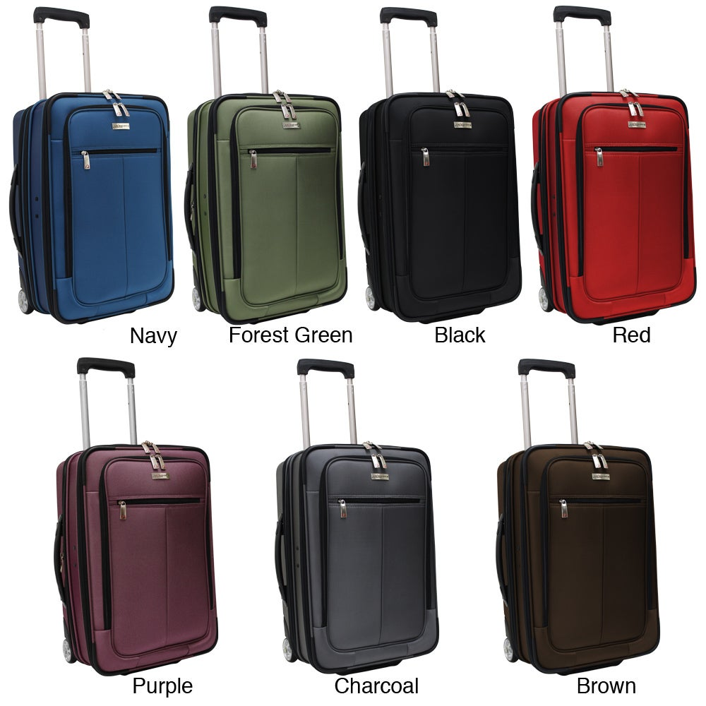 Shop Traveler s Choice Siena 21-inch Hybrid Garment Bag Carry On Upright  Suitcase - Free Shipping Today - Overstock - 4313510 d771566afcdc1