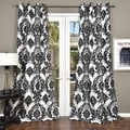 Silver Orchid Lucille Venetian Grommet Top 84-inch Curtain Panel - 55 x 84