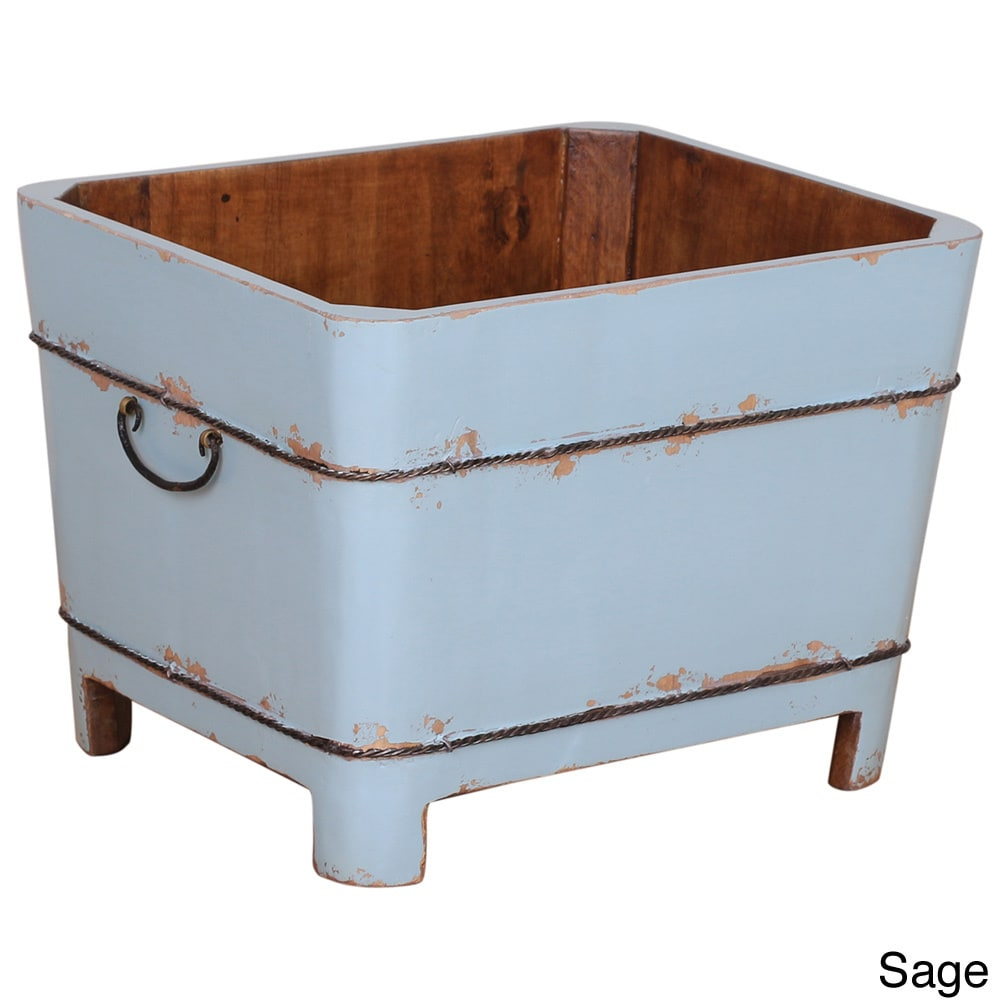 Shop Vintage Style Square Sink - On Sale - Free Shipping Today ...