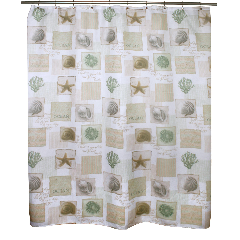 Shop Innovations Seaside Shower Curtain