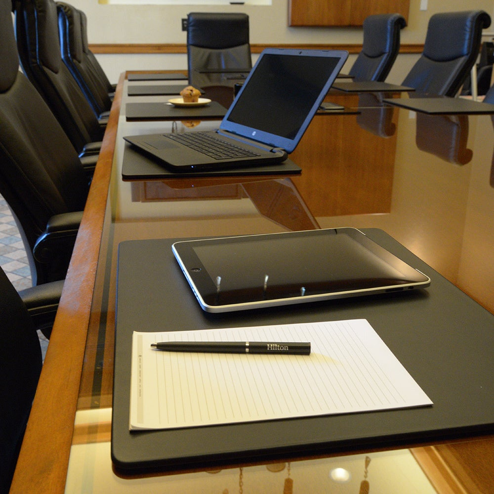 Shop Dacasso Classic Leather Xinch Conference Table Pad Free - Leather conference table pads
