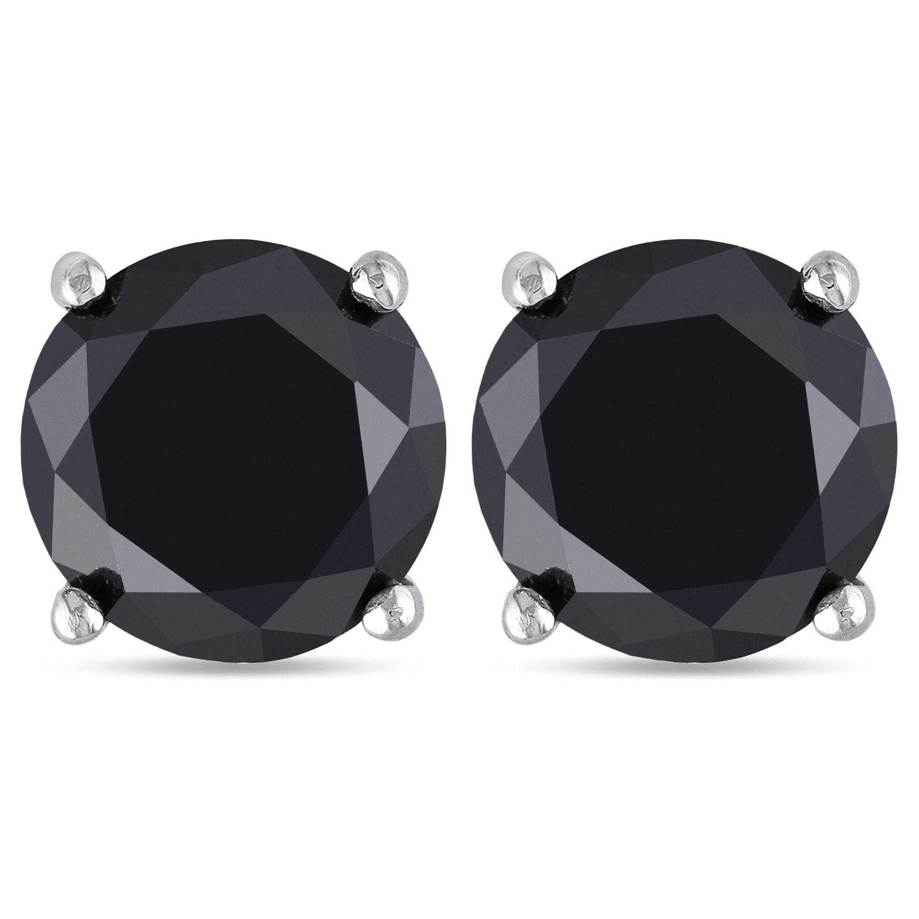 linda diamond earrings copy double stud face studs tahija of black bijouxjewellers products