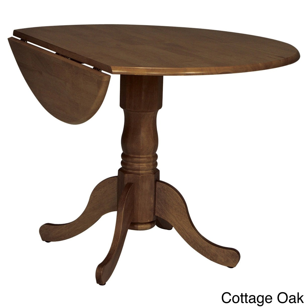 Round 42 Inch Drop Leaf Table Free Shipping Today 4393081