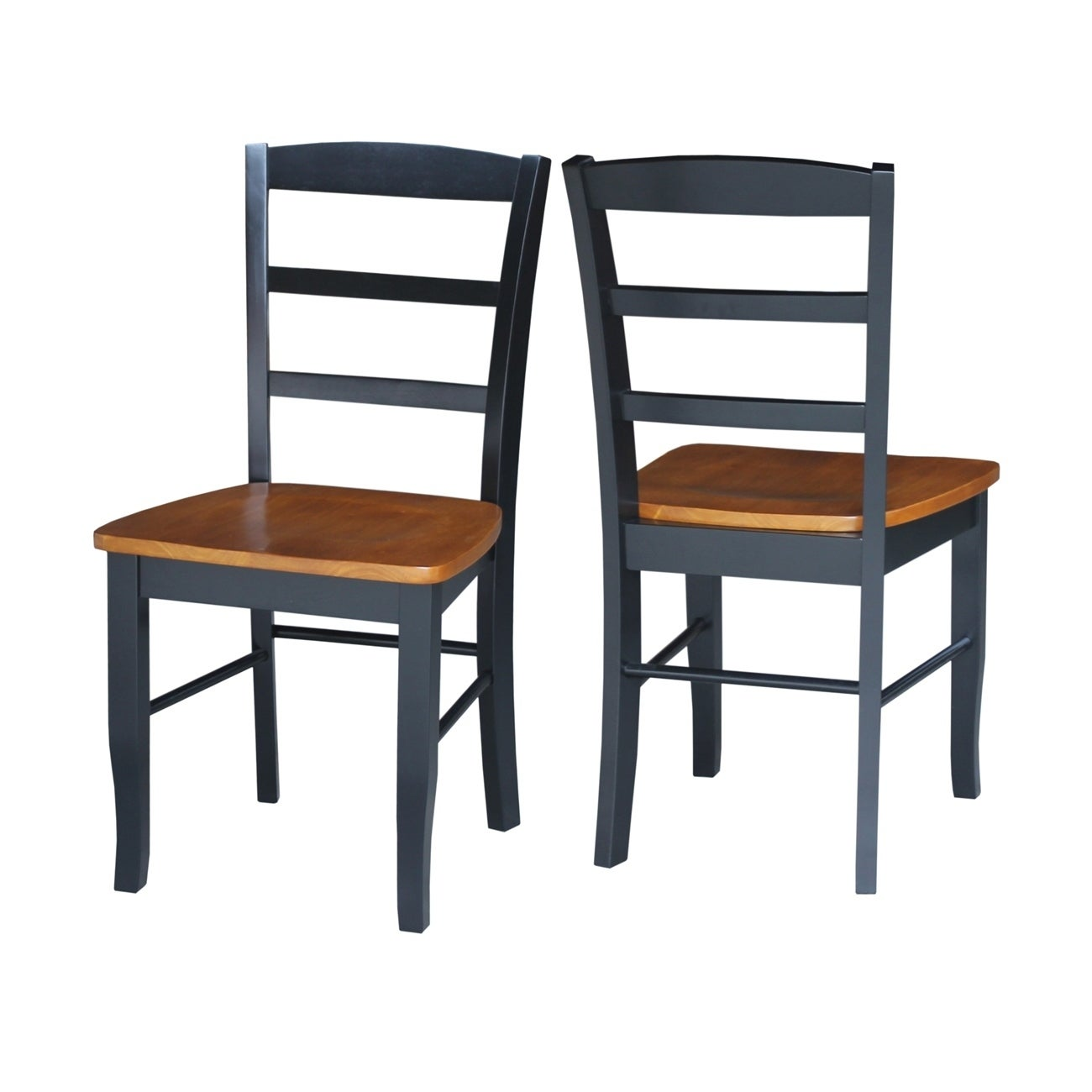 International Concepts Madrid Ladderback Chairs (Set Of 2)   Free Shipping  Today   Overstock.com   12357162