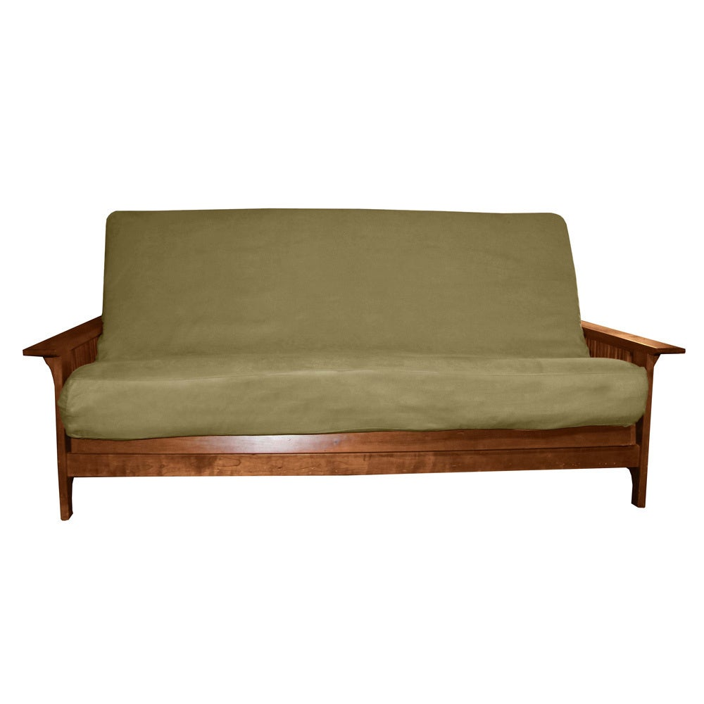 Epicfurnishings Ultima Queen Size Microfiber Futon Cover On Free Shipping Today Com 4393573
