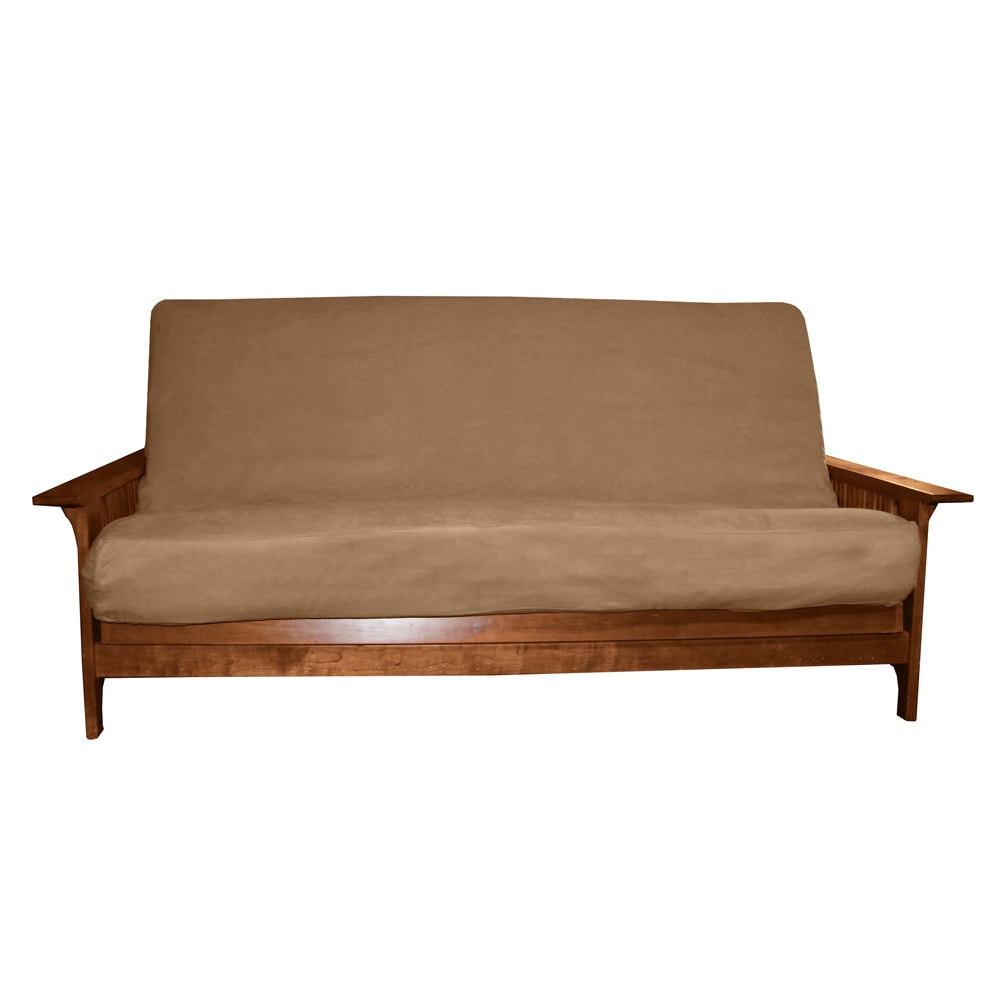 Epicfurnishings Ultima Queen Size Microfiber Futon Cover On Free Shipping Orders Over 45 Com 4393573